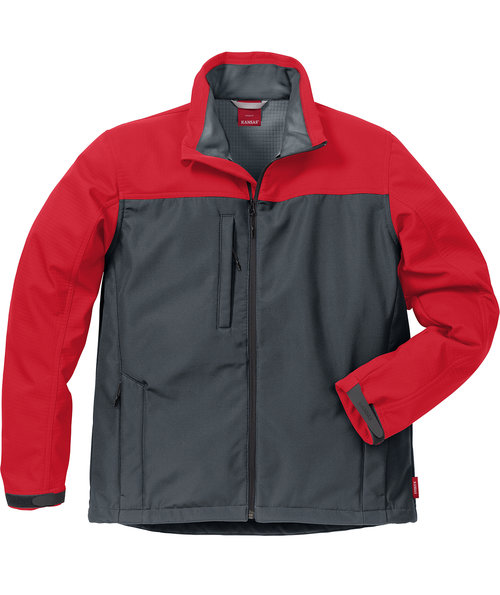 Kansas Icon softshell jacket, Grey/Red