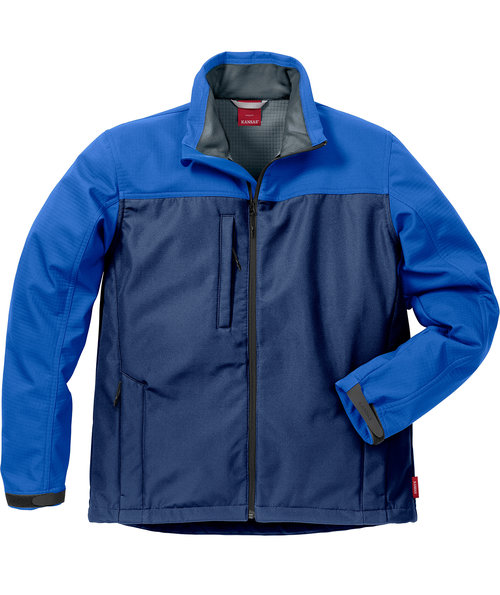 Kansas Icon softshell jacket, Marine/Royal Blue