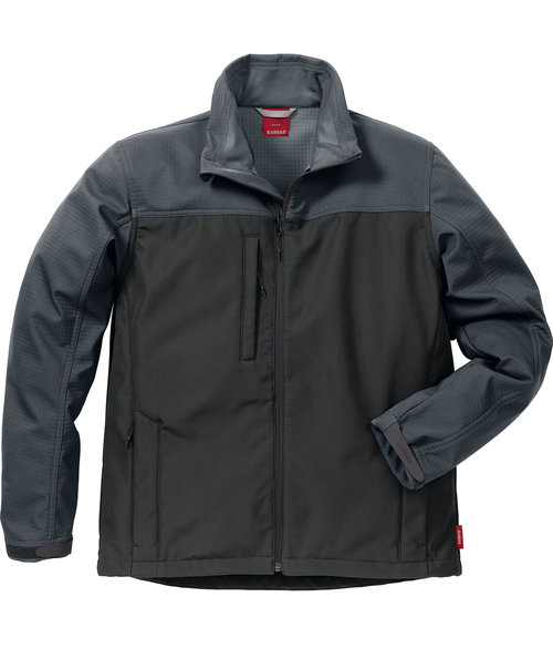 Kansas Icon softshell jacket, Black/Grey
