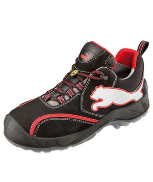 Puma Viking safety shoes S3, Black/Red