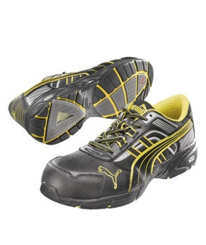 Puma Pace safety shoes S3, Black/Yellow