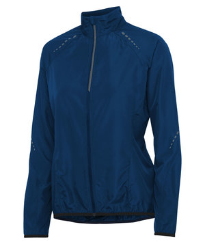 Pitch Stone women's running jacket, Midnight Blue
