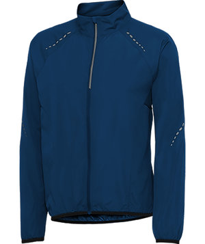 Pitch Stone running jacket, Midnight Blue