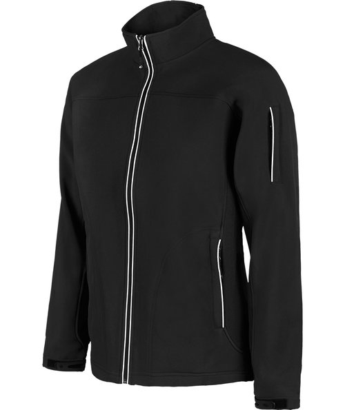 IK Hunt softshelljakke unisex, Black