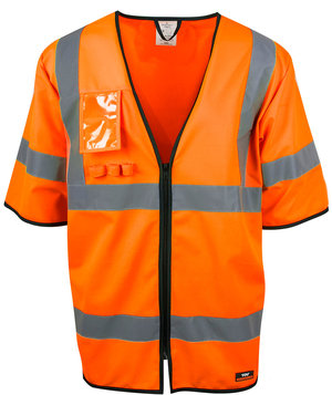 YOU Hagfors unisex refleksvest, Safety Orange