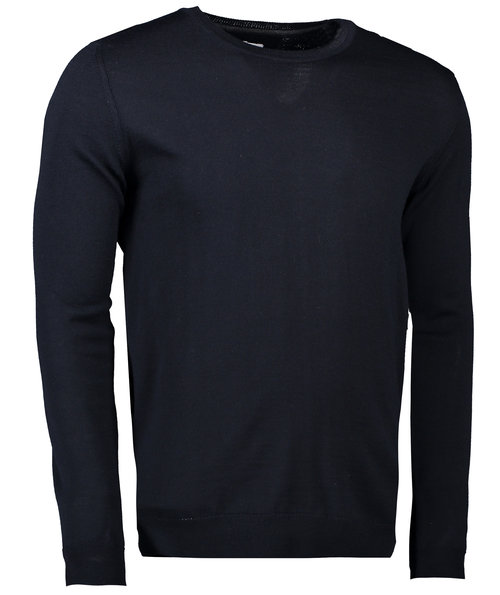 Seven Seas knitted pullover, Navy