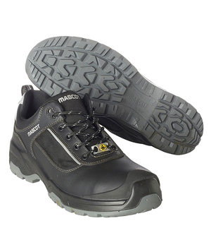 Mascot safety shoes S1P, Black/Silver
