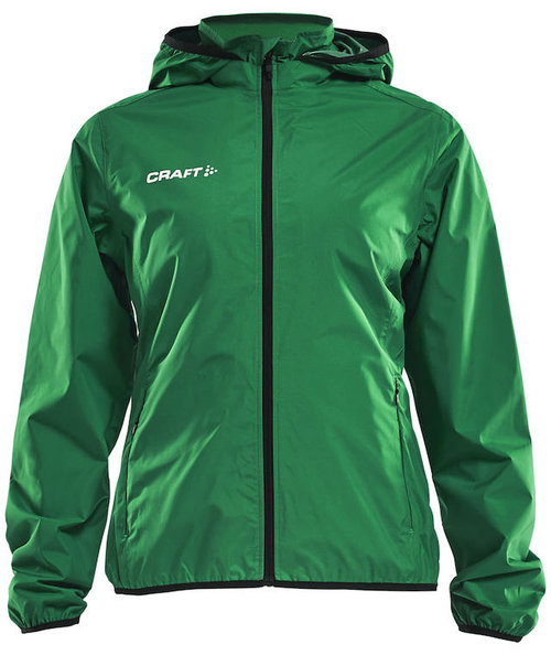 Craft women's rain jacket, Team Green
