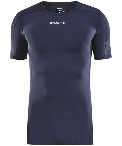 Craft Pro Control compression T-shirt unisex, Navy