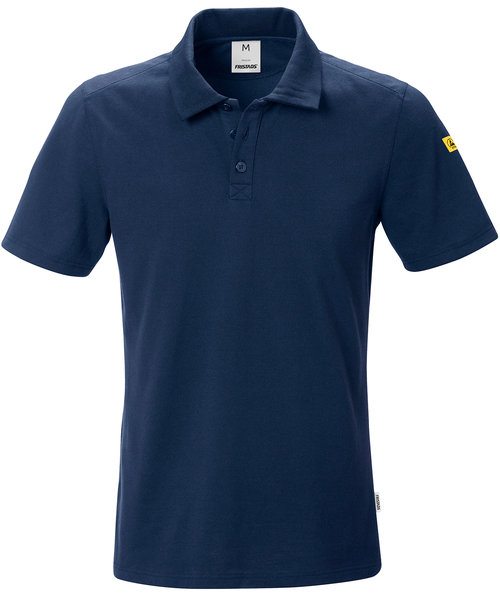 Fristads ESD polo shirt, Dark Marine Blue