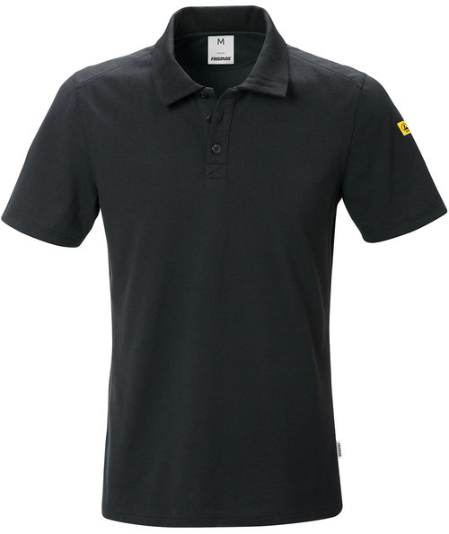 Fristads ESD polo shirt, Black