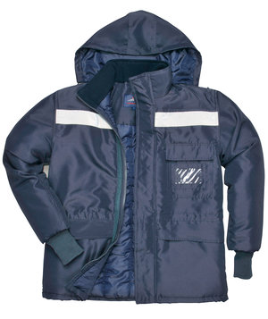 Portwest Coldstore winter jacket, Marine Blue