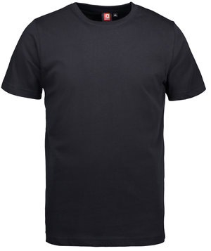 ID Yes T-shirt, 100% cotton, Black