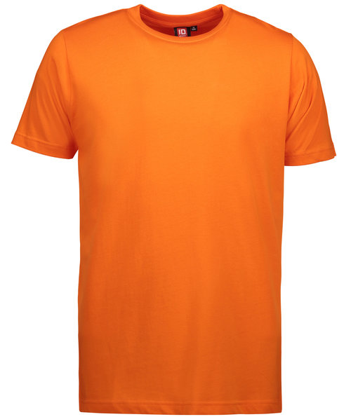 ID Yes T-shirt, 100% bomuld, Orange