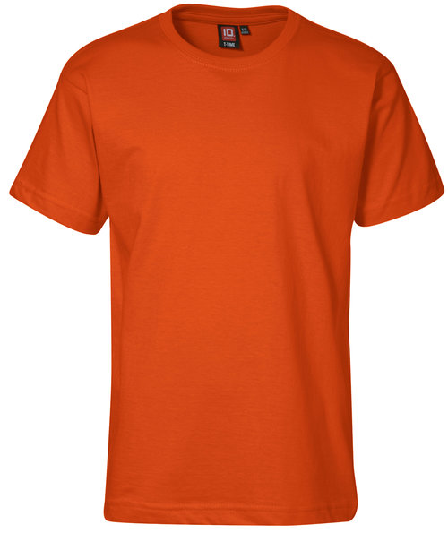 ID Identity T-Time T-shirt till barn, 100% bomull, Orange