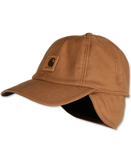 Carhartt stretch fitted keps, Carhartt Brown