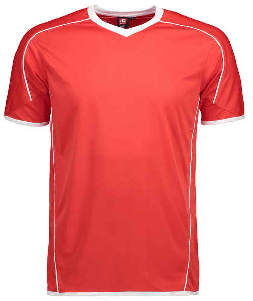 ID Team Sport T-shirt, Rød