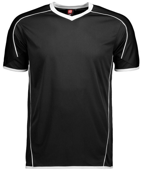 ID Team Sport T-shirt, Sort