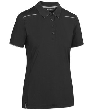 NewTurn women's polo shirt, Black/Grey