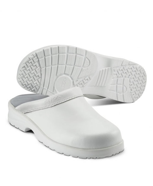 2. Sortierung Sika Fusion Clogs ohne Fersenkappe,    Weiß