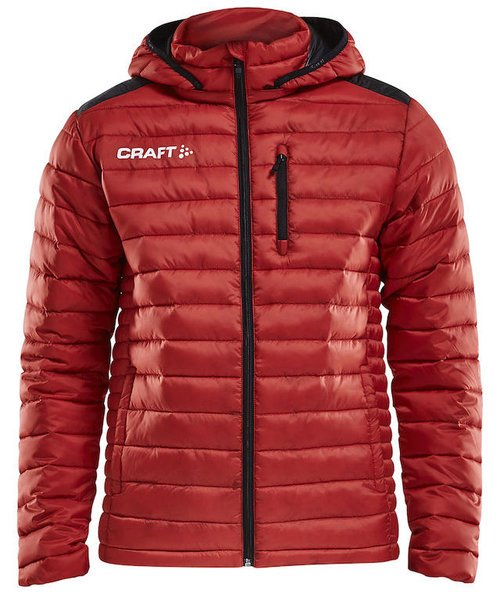 Craft Isolate jacka, Bright Red/Black