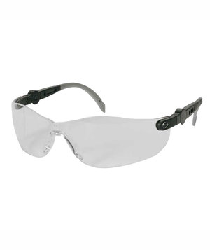 OX-ON Space Comfort safety glasses, Black/Transparrent