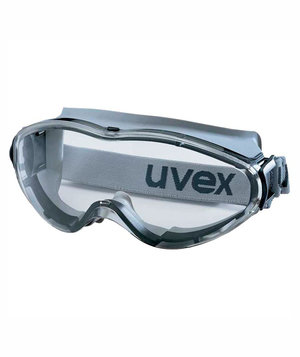 OX-ON Uvex Ultrasonic safety glasses, Grey/Transparrent