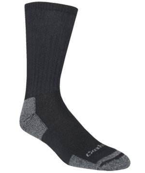 Carhartt All Season 3-pack work socks, Black