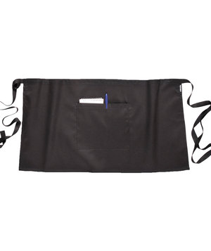 Portwest apron wtih pocket, Black