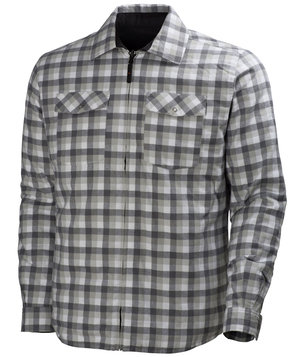 Helly Hansen Vancouver shirt jacket, Grey Checkered