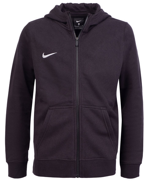 Nike Team Club cardigan till barn, Svart