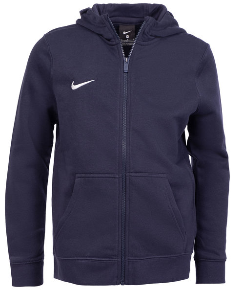 Nike Team Club cardigan till barn, Navy