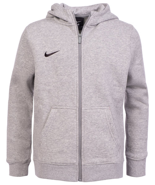 Nike Team Club cardigan till barn, Dark Grey Heather