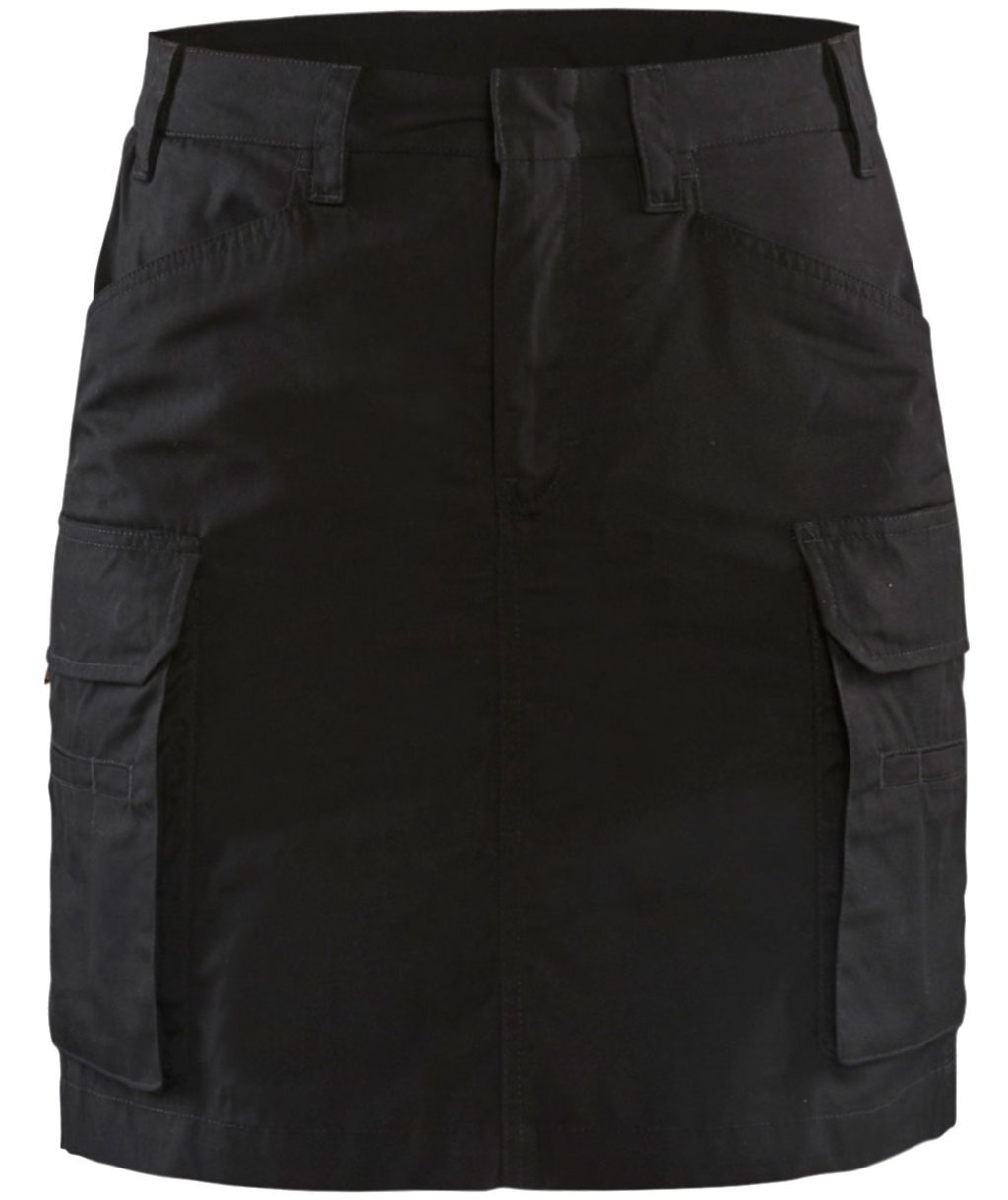 Blåkläder stretch women's skirt, Black