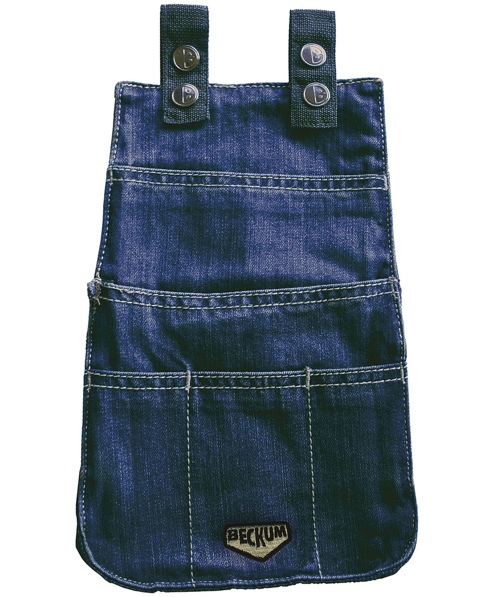 Beckum tool pocket, 100% cotton, Denim Blue