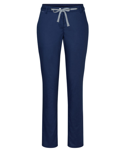 Karlowsky chino stretchbukse dame, Navy