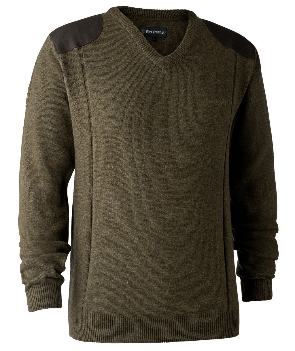 Deerhunter Sheffield Strickpullover, Zypresse