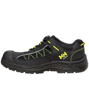 Helly Hansen WW Alna safety shoes S3, Black/Yellow