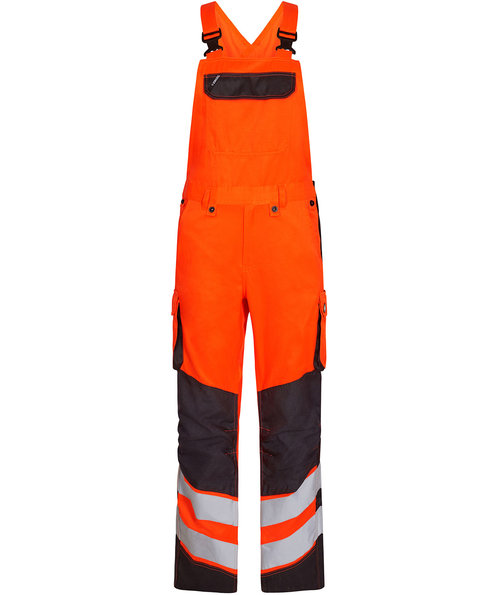 FE Engel Safety Light hängselbyxa, Varsel Orange/Grå