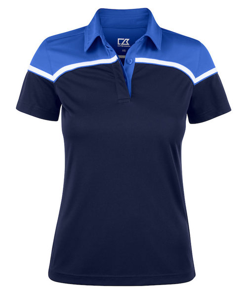 Cutter & Buck Seabeck Damen Poloshirt, Dunkel Navy/Royal