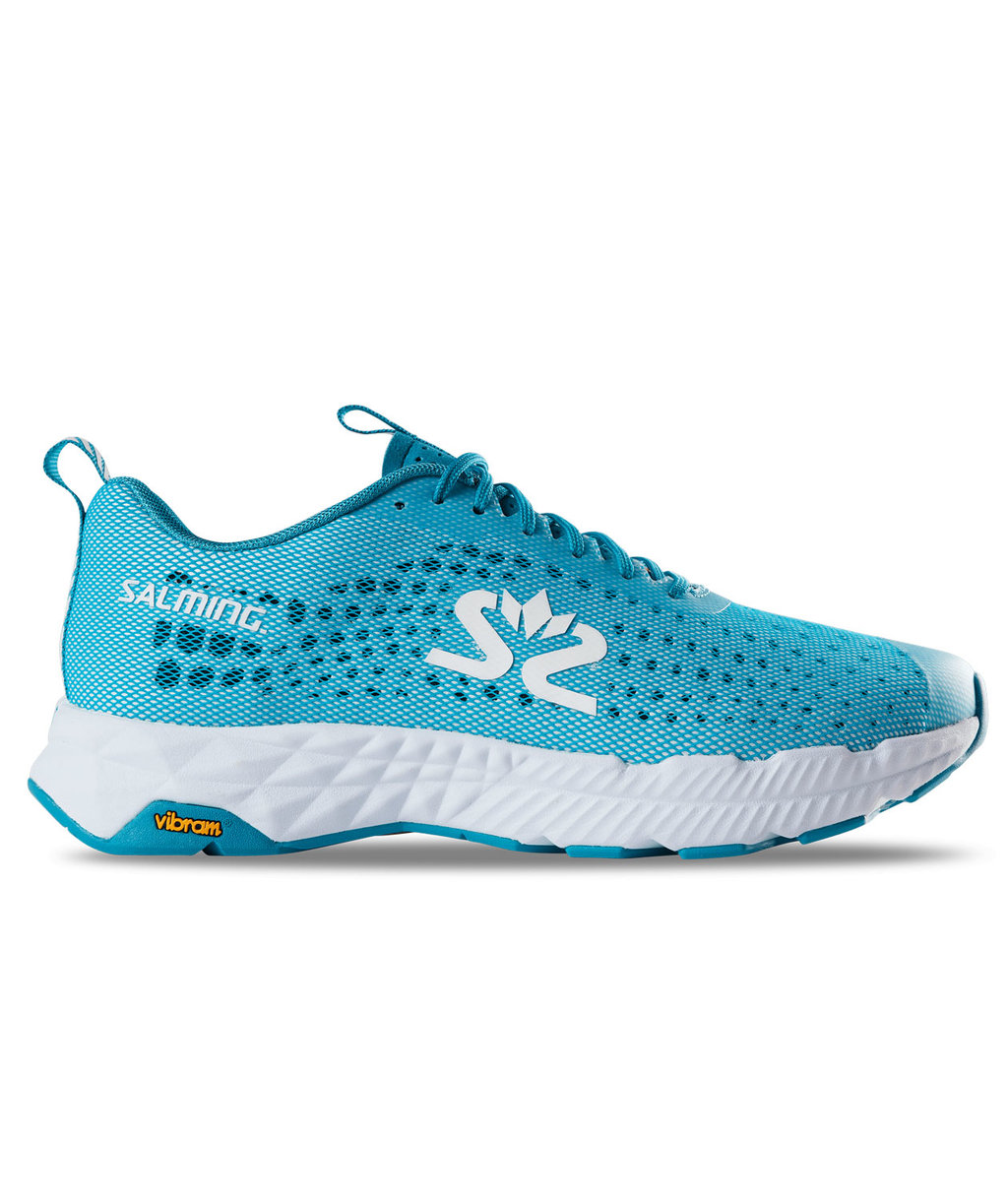 Salming Greyhound women's running shoes, Turquoise