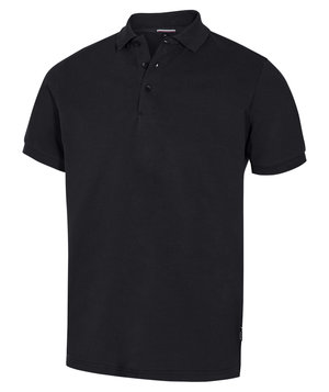 Pitch Stone Stretch polo T-shirt, Sort