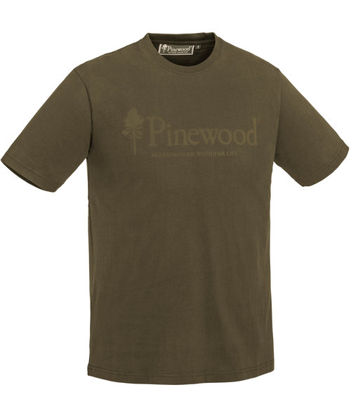 Pinewood Outdoor Life T-shirt, Hunt Olive