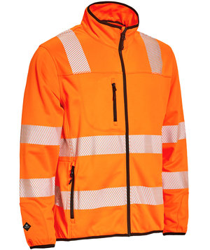 Elka Visible Xtreme fleecetrøje, Hi-Vis Orange
