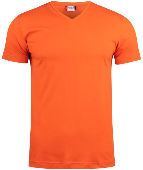 Clique Basic unisex T-shirt, Orange