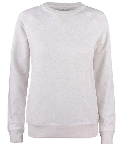 Clique Premium OC women's sweatshirt, Light Grey Melange