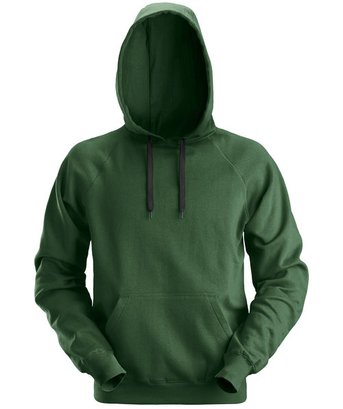 Snickers hoodie, Forest Green