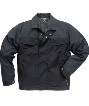 Fristads Kansas Icon Cool work jacket, Black/Grey