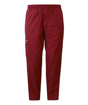 Invite unisex trousers with elastic, Burgundy