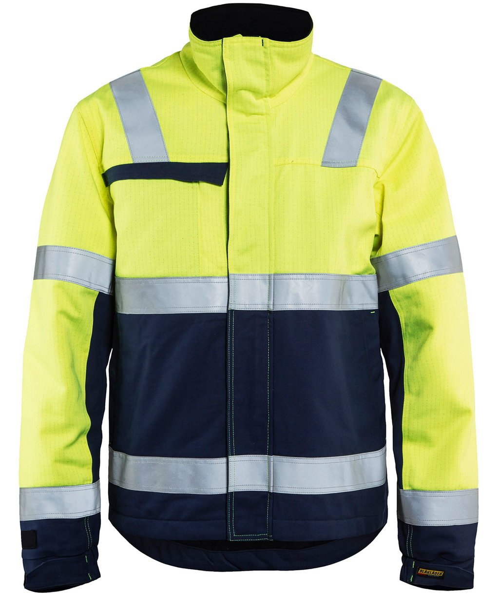 Blåkläder Multinorm winter jacket, Hi-Vis Yellow/Navy